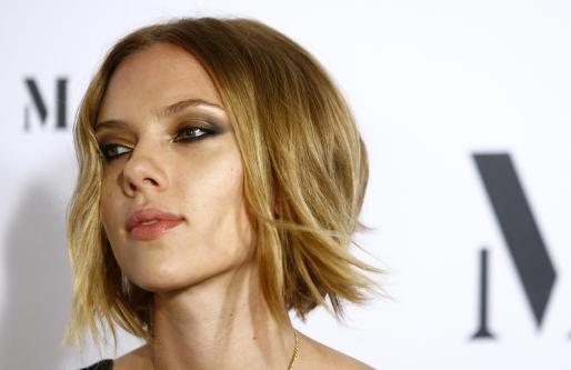 Scarlett Johansson es actualmente imagen de la firma de moda catalana Mango.