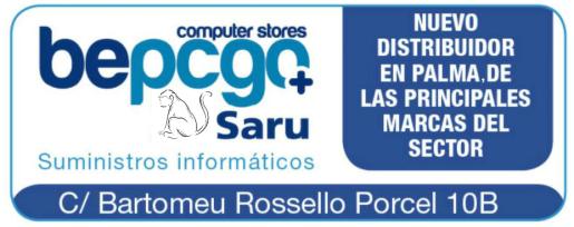 Bepcgo_Saru distribuye en Palma componentes electrónicos de los principales fabricantes.