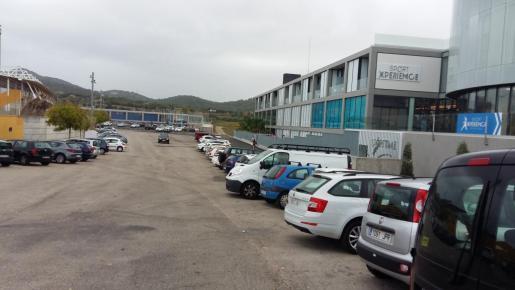 Imagen de los aparcamientos.