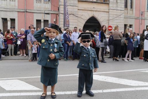 El futuro de la Guardia Civil, bien representado.