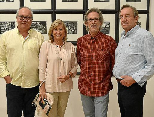 Joan Sastre, Gudy Moragues, Pepe Cañabate y Antoni Pomar.
