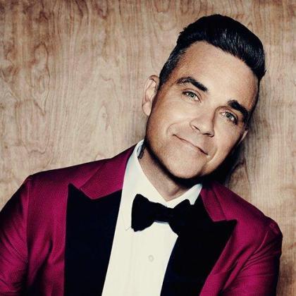 Robbie Williams, ya retocado.