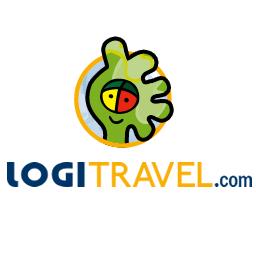 Logotipo oficial de Logitravel.com.