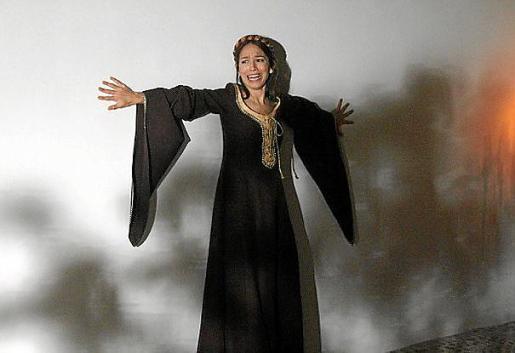 La actriz Patricia Monzón, en una escena del filme.