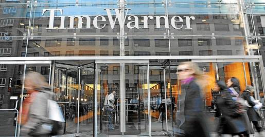 Imagen de archivo del edificio de Time Warner en Nueva York.