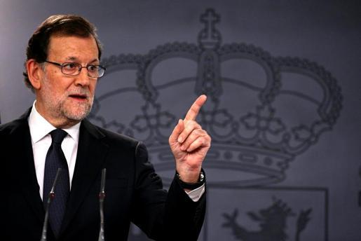 Mariano Rajoy, candidato a la investidura.