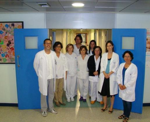 Más de 1.400 profesionales de la psiquatría se reunirán en Palma para poner en común los avances en el ámbito de este especialidad médica. En la imagen, los componentes de la unidad de Psiquiatría del Hospital de Inca.