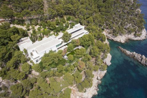 Imagen de Villa Cortina en Formentor.