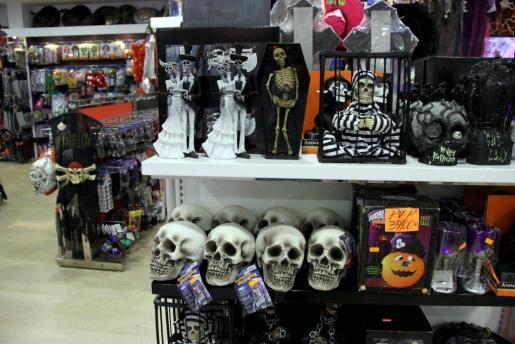 Productos de Halloween.