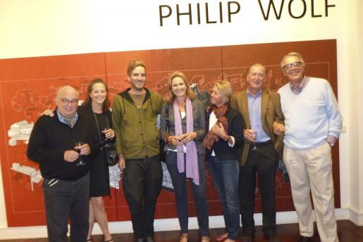 Roman y Christine Hummelt, Philip Wolf, Isabel Middelmann, Miki y Paul Schokker y Àlvaro Middelmann.