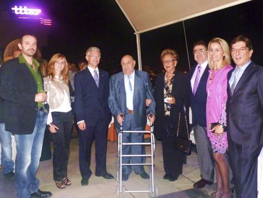 Bartolomé Palou, Cristina Nadal, Ramon García, Pedro Bauzá, Joana Dalmau, Antoni Bennássar, María Dolores Caldentey y Antonio Real.