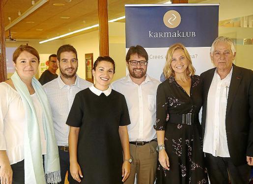 Marta Barrio, Jaime Mota, Paula Girart, Josep Lluís Pons, Victoria Maldi y Jaume Coll. Fotos: Joan Torres