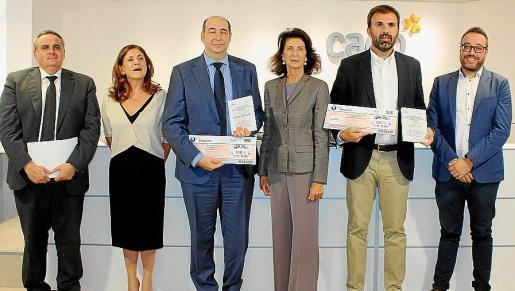 Lorenzo Morey, Marina Gordon, Wàlfrid Ivern, Carmen Planas, Bernat Llobera y Cipriano Ferreiro.