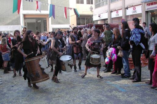 La feria de época de Inca estará animada con pasacalles y teatro de calle.
