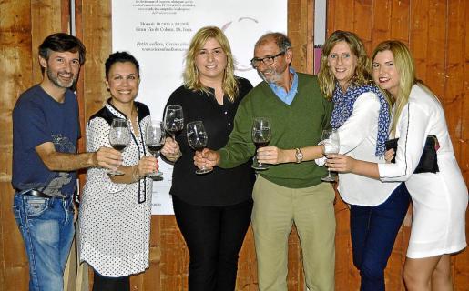Joan Ramis, Elena Montero, Mar Nicolau, Andreu Majoral, Rocío Gómez y Laura Bennàssar.