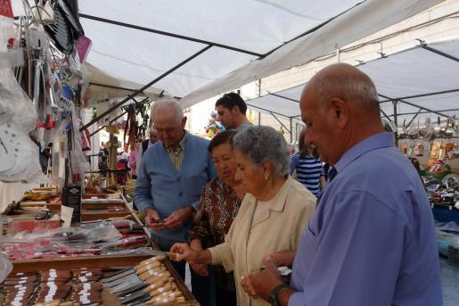 La feria de Porreres está dedicada a los productos tradicionales del campo mallorquín.