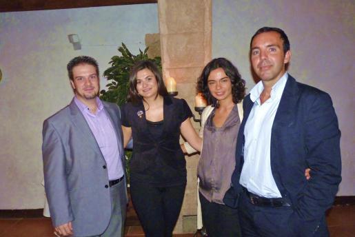 Eduard Ramis, Marian Adrover, Maria del Mar Vaquer y José Miguel Artieda.