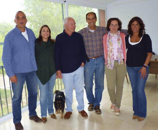 Dani Riera, María Luisa Fernández, José Miguel Martín, Carlos Alemán, Celia Fajardo y Cornelia Díaz.