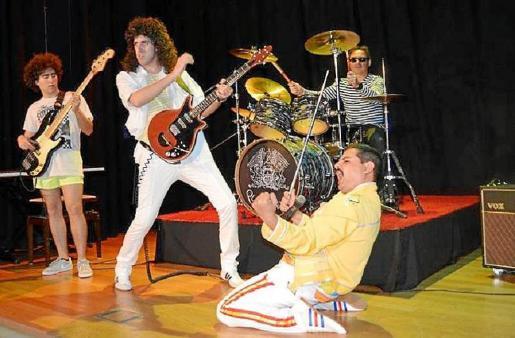 La banda tributo Queen Forever actuará en el Auditòrium de Palma.