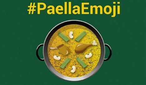 Este es el emoticono de la paella.