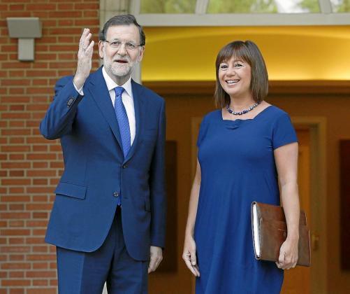 La carpeta que prepara Armengol para la nueva reunión con Rajoy irá aún más llena que la última.