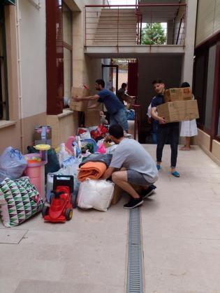 La gestión del envío a Siria la llevarán a cabo voluntarios de Inca, de la ONG Asociación de Apoyo al Pueblo Sirio.
