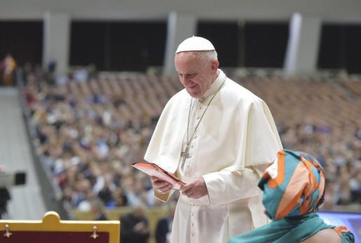 El papa Francisco, en el Vaticano.