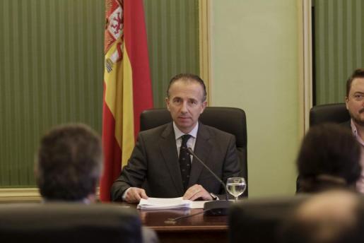 El conseller Carlos Delgado, en una imagen de 2013, cuando era conseller de Turismo.