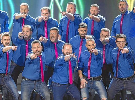 El Mallorca Gay Men's Chorus, que actuará en Nueva York, en una de sus actuaciones.