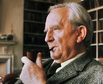 Imagen de J.R.R. Tolkien, autor de 'El señor de los anillos' o 'El Hobbit' entro otros títulos.