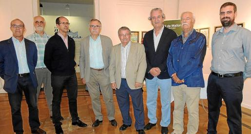 Jesús Cuesta, Andreu Oliver, Miquel Frau, Miquel Fiol, Guillermo Pol, Joan Miralles, Pep Solivellas y Andreu Oliver.