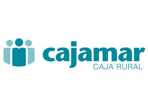 Logotipo de la entidad financiera Cajamar Caja Rural.