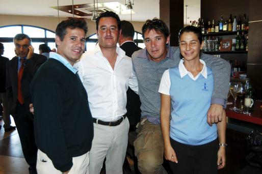 Marcos Maza, Enrique Cid, Jaume Ollé y Marta Abad. Fotos: C. Viera.