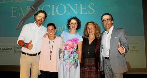 Víctor Küppers, Cristina Gómez, Bárbara del Amo, Elena Font y Javier Iriondo.