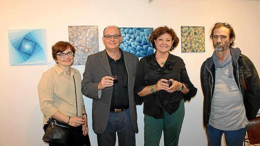 María de los Ángeles Martínez, Antoni Forteza, Francisca Llabrés y Juan Manuel Rigo.