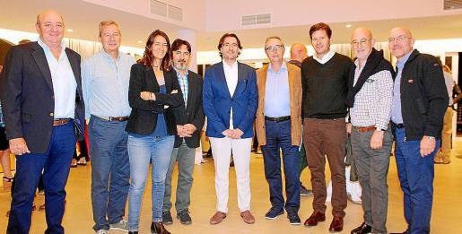 Juan Tomás, Josep Aloy, Alicia Cabrera, Juan Andrés Ruiz, Xavier Bonet, Juan Amer, Mateu Alemany, Antoni Sanz y Jordi Garrós.