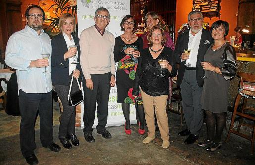 Jesús González, Maria Antònia Colom, Pere Freixas, Susana de Cortada, Aixa de Veccini, Ana Thorborg, Ismael Angarita y Magdalena Pascual