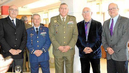 Cristòfol Sbert, Manuel Fernández-Roca, Juan Cifuentes, Pere Perelló y Jaume Colom.