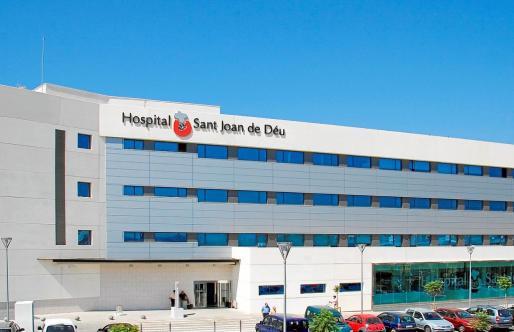 Imagen del Hospital de Sant Joan de Déu en Cas Pastilla