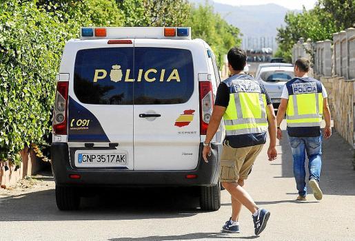 Imagen de archivo de la Policía Nacional, que realizó la investigación contra los sospechosos.