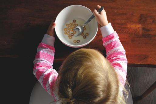El informe Aladino reveló que el 15,5 por ciento de los niños sólo bebe líquido para desayunar.