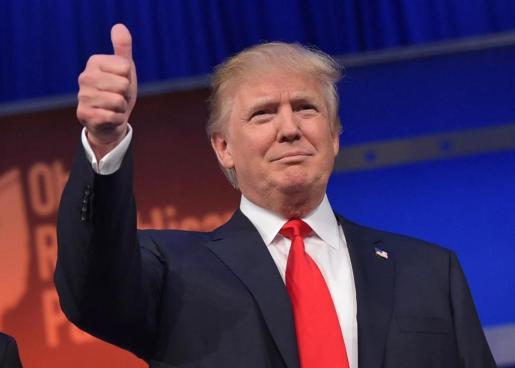Trump ha aventurado que en lugar de un muro completo en la frontera con México, ciertos segmentos podrían ser de alambrada, siempre que sea apropiado.