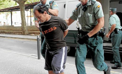 Alejandro de Abarca, acudiendo a los juzgados el pasado mes de septiembre.