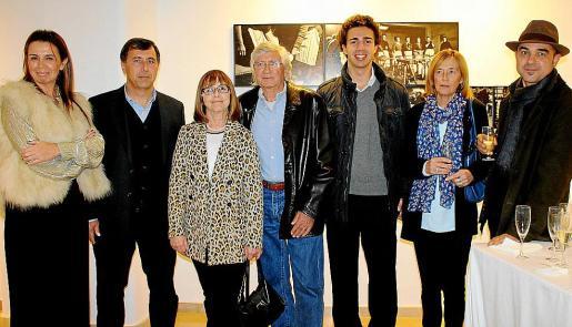 Carolina Vicens, Pepe Enseñat, Ana María Enseñat, Joan Ramon Bonet, Jaime Ensenyat, Mercedes Enseñat y David Bonet.