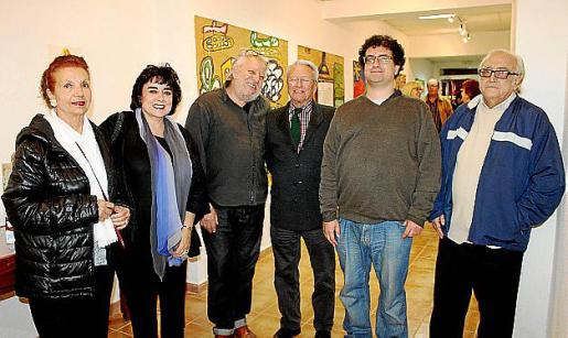 Manoli Barroso, Maribel Morueco, Horacio Sapere, Jaume Cifre, Elbio Nery y Miquel Ferrà i Martorell.