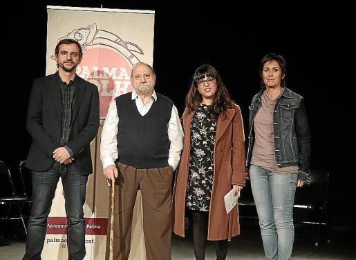 Llorenç Carrió, Toni Rotger, Noemí Garcías y Francisca Niell.