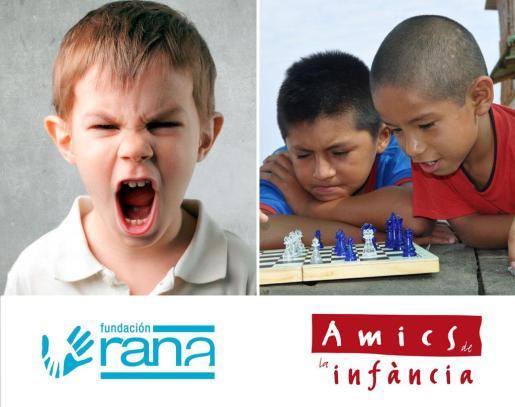 Fundación RANA y Amics de la Infància.