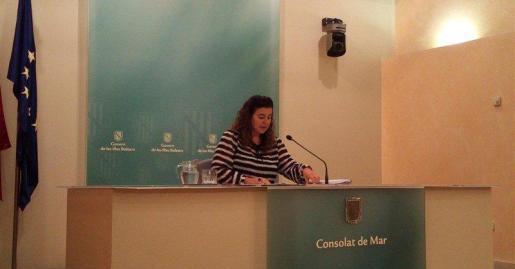Una vez más, la portavoz del ejecutivo ha deseado que Podemos resuelva pronto su situación interna.