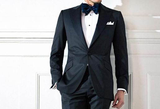 El smoking es una forma de vestir elegante y cómoda para el caballero.