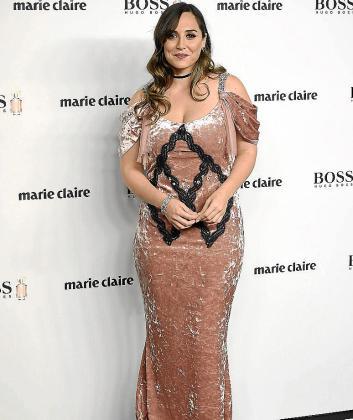 En la imagen, Tamara Falcó durante la 14 edición de «Marie Claire Fashion Prix» que tuvo lugar en Madrid el pasado miércoles.